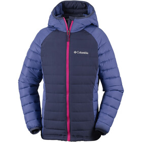 Columbia Powder Lite Hooded Jacket Mädchen nocturnal/eve